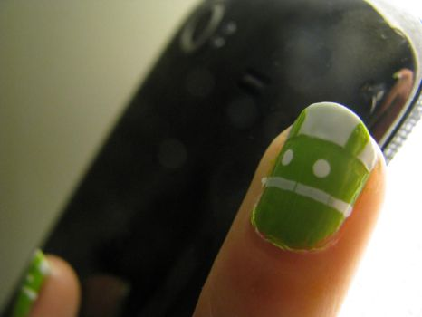 Android Nails by nhathy