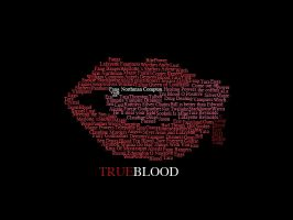 True Blood Typography. by sowrongitsdom