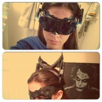 TDKR Catwoman Inspired Goggles by Romantically-Geeky