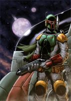 Boba Fett (Star Wars) by RecklessHero