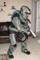 Halo Reach Foam armor build by Hyperballistik