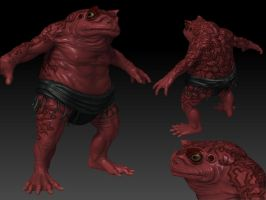Sumo toad W.I.P by DeckardX08