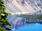 Reflections at Crater Lake by MogieG123