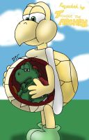 REQUEST - Koopa Ate A Yoshi by Dan-the-Countdowner