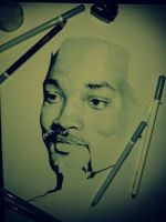 Will Smith WIP (commissioned) by IamLesFleurs