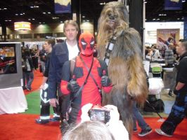 Han, Chewbacca and you fave Merc with a Mouth. by Darth-Slayer