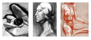 Charcoal Drawings AAC by Gorillastrations