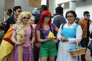 Disney Hipsters - Fanime 2012 by AtomicBrownie