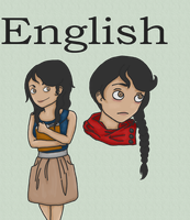 School Humanized: English by TheSilentSiren