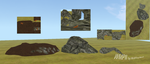 WarriorMeshes II. Pack 1, Dens and Caves II. by WulfTheWolf