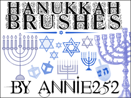 Hanukkah Brushes01 by annie252