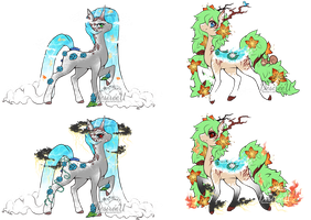 OTA Gaia Pony Adopts (CLOSED) by Desiree-U