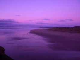 purple beach bundoran by sleepielion