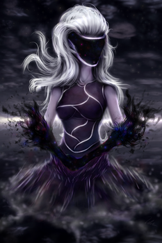 Mistress of the void by Salterino