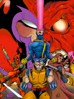 X-men Unleashed by BIG-D-ARTiZ