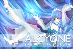 Adobtable Auction: Alcyone [OPEN] by Hisamori
