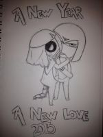 Happy New Year Lover by SolarGear079