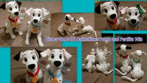 Disney Store 101 Dalmatians Pongo and Perdita 14in by Vesperwolfy87