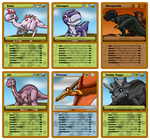 Gang Of Five Top Trumps - Set 2 by RockingScorpion