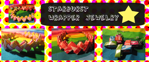 Starburst Wrapper Jewely by PlanetSal