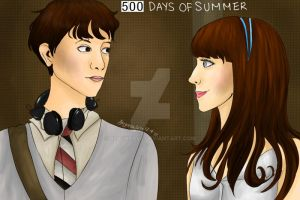 500 Days of Summer by BlackD0ve
