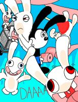 Oswald and the Rabbids by comedyestudios
