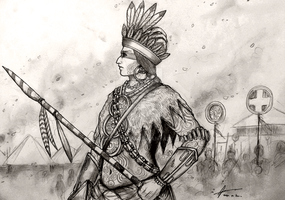 Immookalee of Italwa Ani-Yvwuyu (American Indian) by Gambargin