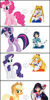 Sailor Ponies? by headlight