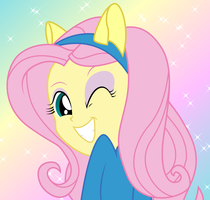 FlutterShy-EQG by FlutterDash75
