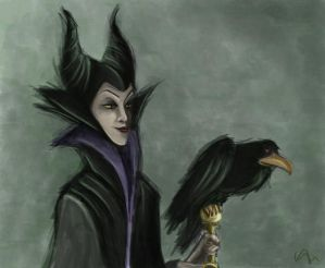 Maleficent by Nuditon