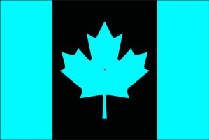 Canada Flag Afterimage Effect by GaBrIeLlA123