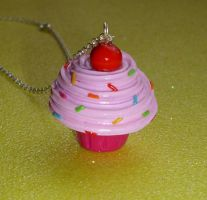 Pink Porge Cupcake by PORGEcreations