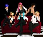 Vocaloid Famiglia by caillen