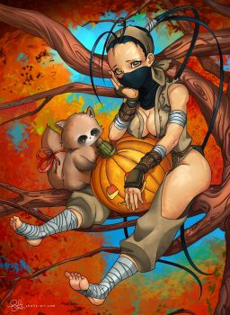Youtube | Ibuki and Don by shellz-art