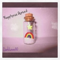 Rainbow Bottle Charm by Darklunax110