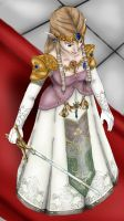Twilight Princess: Zelda by Lady-of-Link