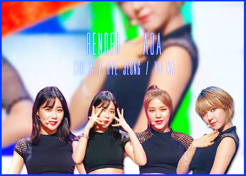 AOA [ PNG PACK ] by MeteorYu