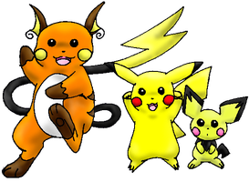 "The ""Chu"" Family by Pikachu-Fans"