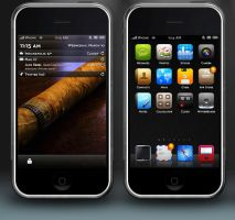 Cubano iPhone by rebstile