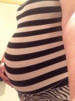 22 weeks by lilmisschubby