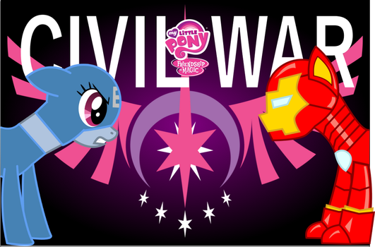 My Little Pony Civil War by DracofireProductions