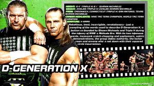 WWE DX ID Wallpaper Widescreen by Timetravel6000v2