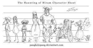 The Haunting of Hiram Sheet by pangketepang