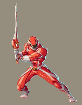 Red Ranger by Fpeniche