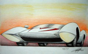 Speed Racer's Mach-5 by EdgardoS