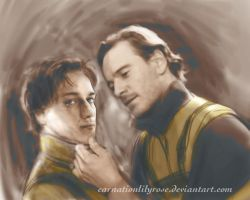 Just Look at Me - Charles and Erik by carnationlilyrose