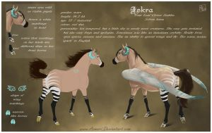 Iskra - reference sheet by Aomori