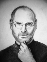 Steve Jobs by Bolbec