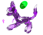 Green Gacha Hatchling by LastbutnotAlise