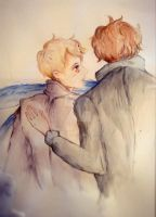 Him, In Watercolour by sparki111